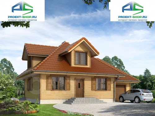 Проект дома 1-202