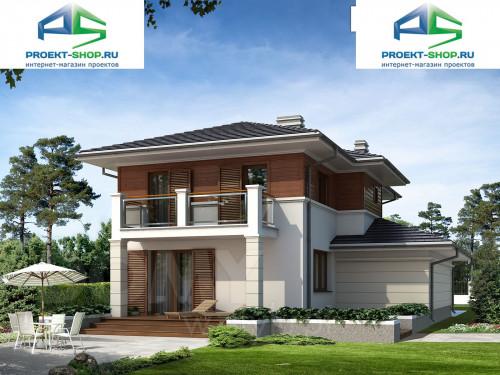 Типовой проект жилого дома 1-234