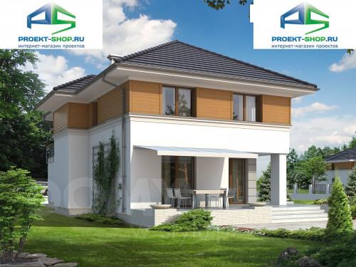 Типовой проект жилого дома 1-238