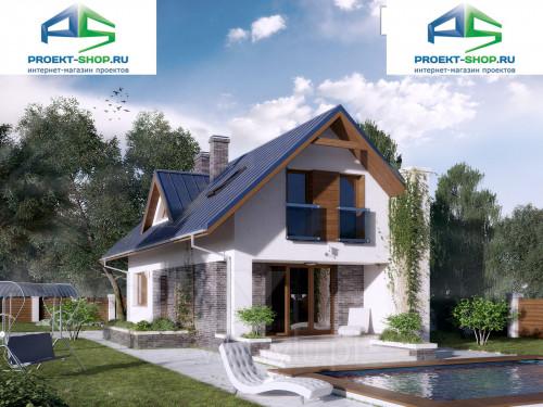 Типовой проект жилого дома 1-256