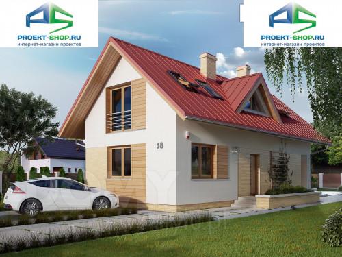 Проект дома 1-257