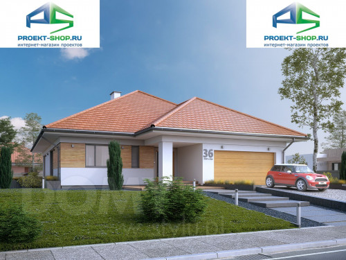 Проект дома 1-260