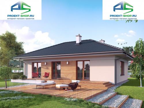 Типовой проект жилого дома 1-262