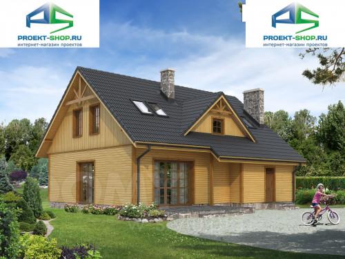 Типовой проект жилого дома 1-279