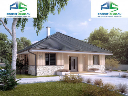 Проект дома 1-290
