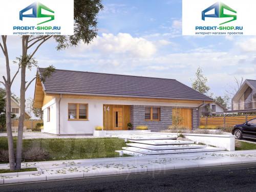 Типовой проект жилого дома 1-300