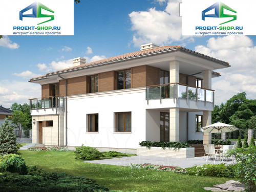 Типовой проект жилого дома 1-320