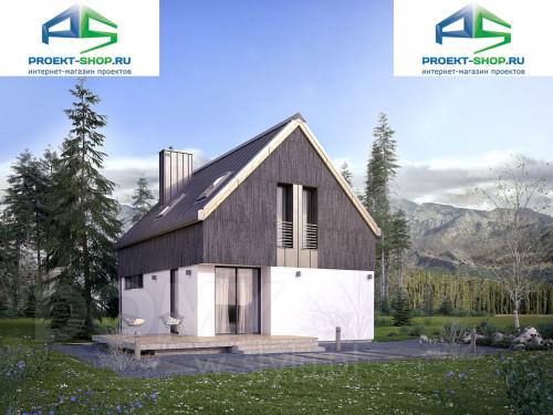 Типовой проект жилого дома 1-327