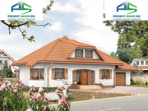 Проект дома 1-332