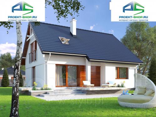 Типовой проект жилого дома 1-344
