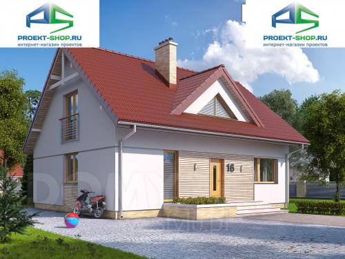 Типовой проект жилого дома 1-345