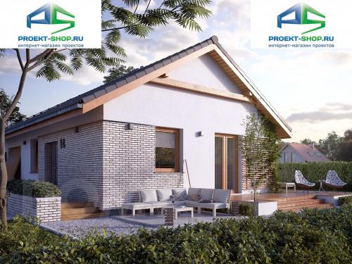 Типовой проект жилого дома 1-347