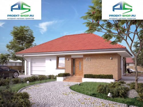 Проект дома 1-348