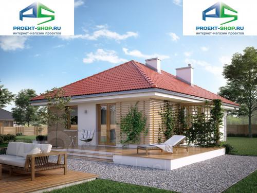 Типовой проект жилого дома 1-348
