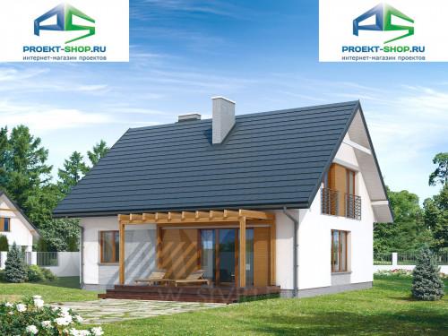 Типовой проект жилого дома 1-350
