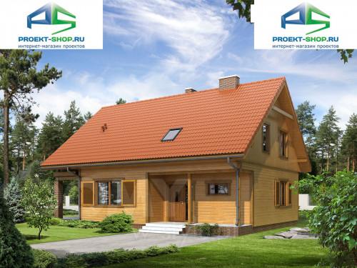 Типовой проект жилого дома 1-352