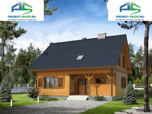 Проект дома 1-357