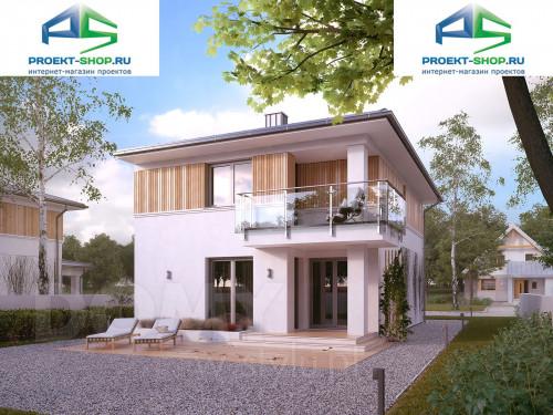 Типовой проект жилого дома 1-454