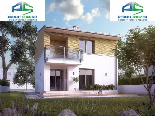 Типовой проект жилого дома 1-455