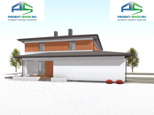 Типовой проект жилого дома 1-456