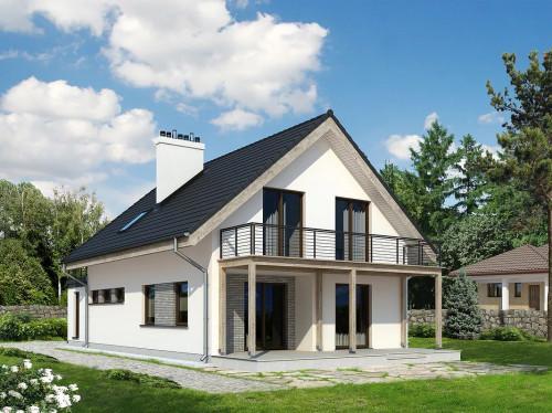 Проект дома 1-457