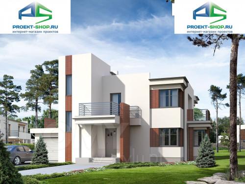 Проект дома 1-458