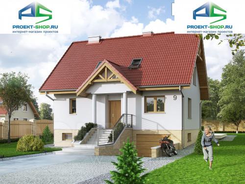 Проект дома 1-459