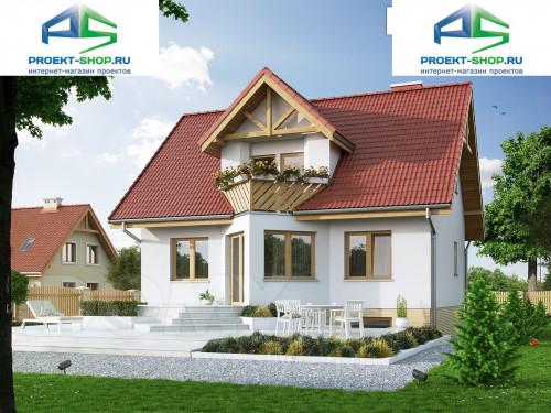 Типовой проект жилого дома 1-459