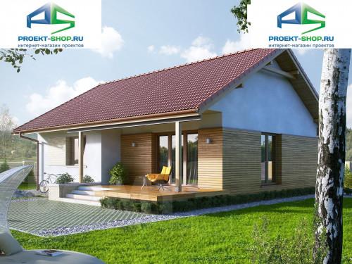 Типовой проект жилого дома 1-467