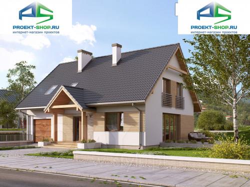 Проект дома 1-523