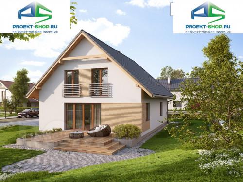 Типовой проект жилого дома 1-523