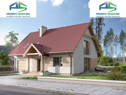 Проект дома 1-524