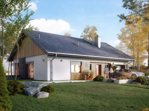 Проект дома 1-525