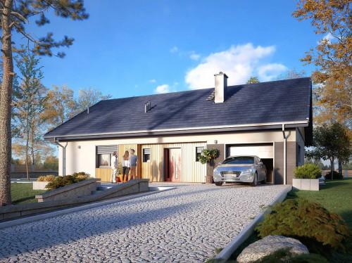 Типовой проект жилого дома 1-525