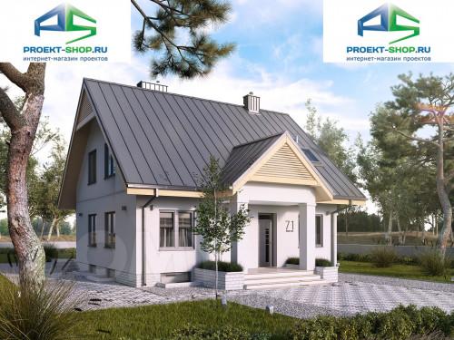 Проект дома 1-545