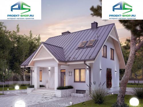 Типовой проект жилого дома 1-545