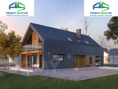 Проект дома 1-546