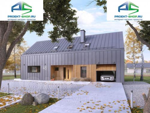 Типовой проект жилого дома 1-546
