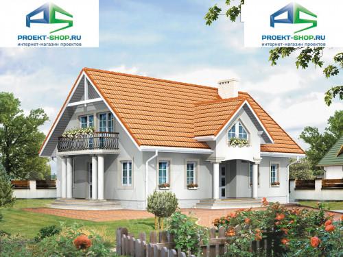 Типовой проект жилого дома 1-550