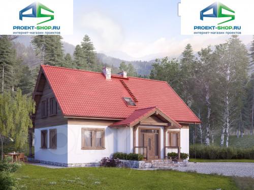Проект дома 1-557