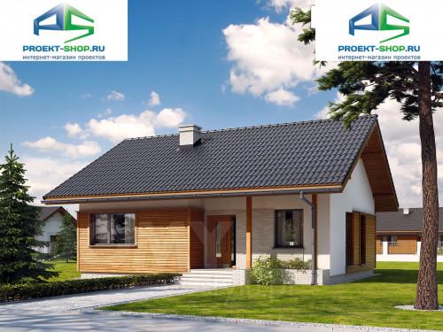 Проект дома 1-579