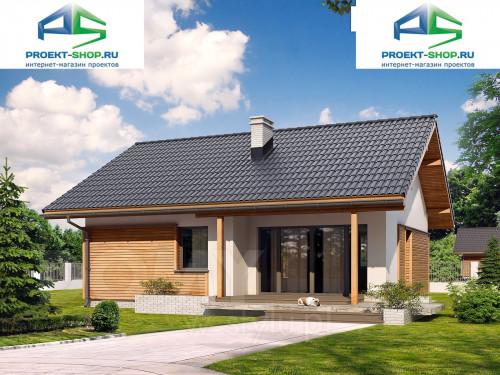 Типовой проект жилого дома 1-579