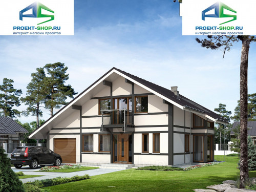 Проект дома 1-604