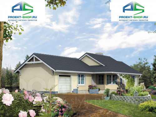 Проект дома 1-616