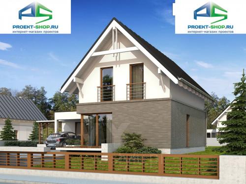 Типовой проект жилого дома 1-636