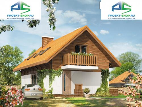 Проект дома 1-670