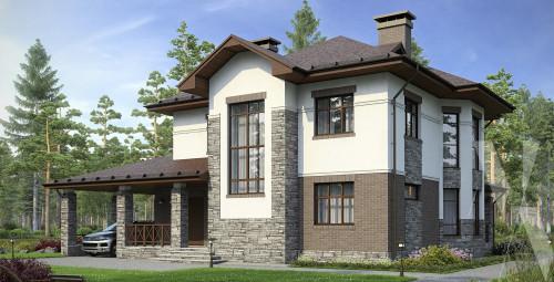 Типовой проект жилого дома 5-163