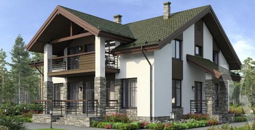 Типовой проект жилого дома 5-194