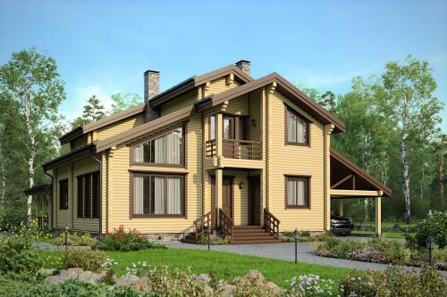 Типовой проект дома 5-232