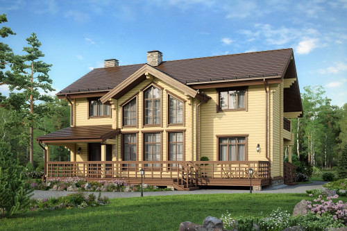 Типовой проект дома 5-233